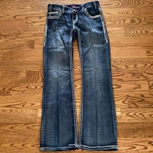 Rock and roll cowgirl western jeans
